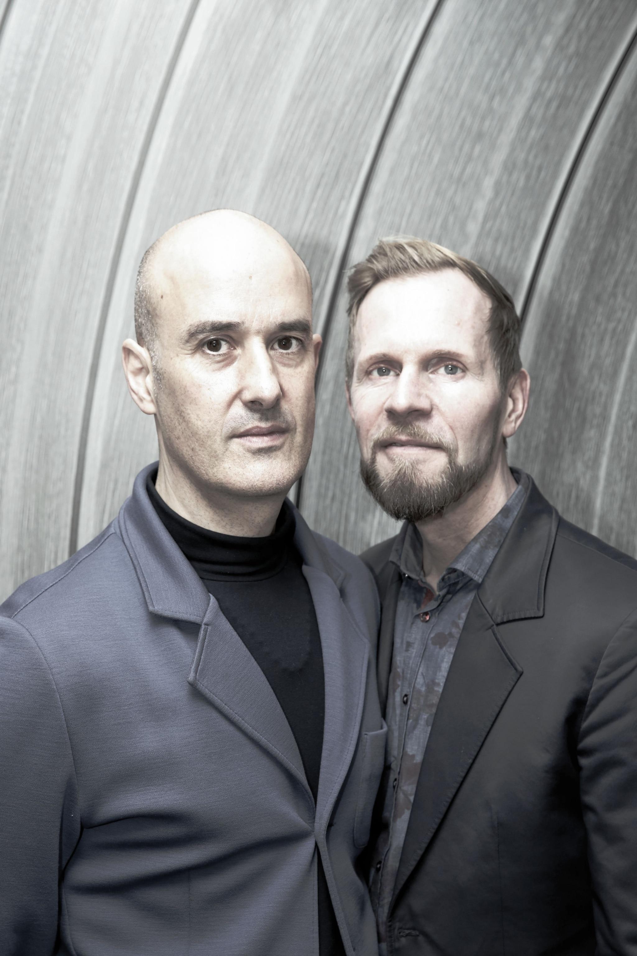 Stefan Harm und Tobias Jopp - Modedesigner von Harm Jopp Jerseys.