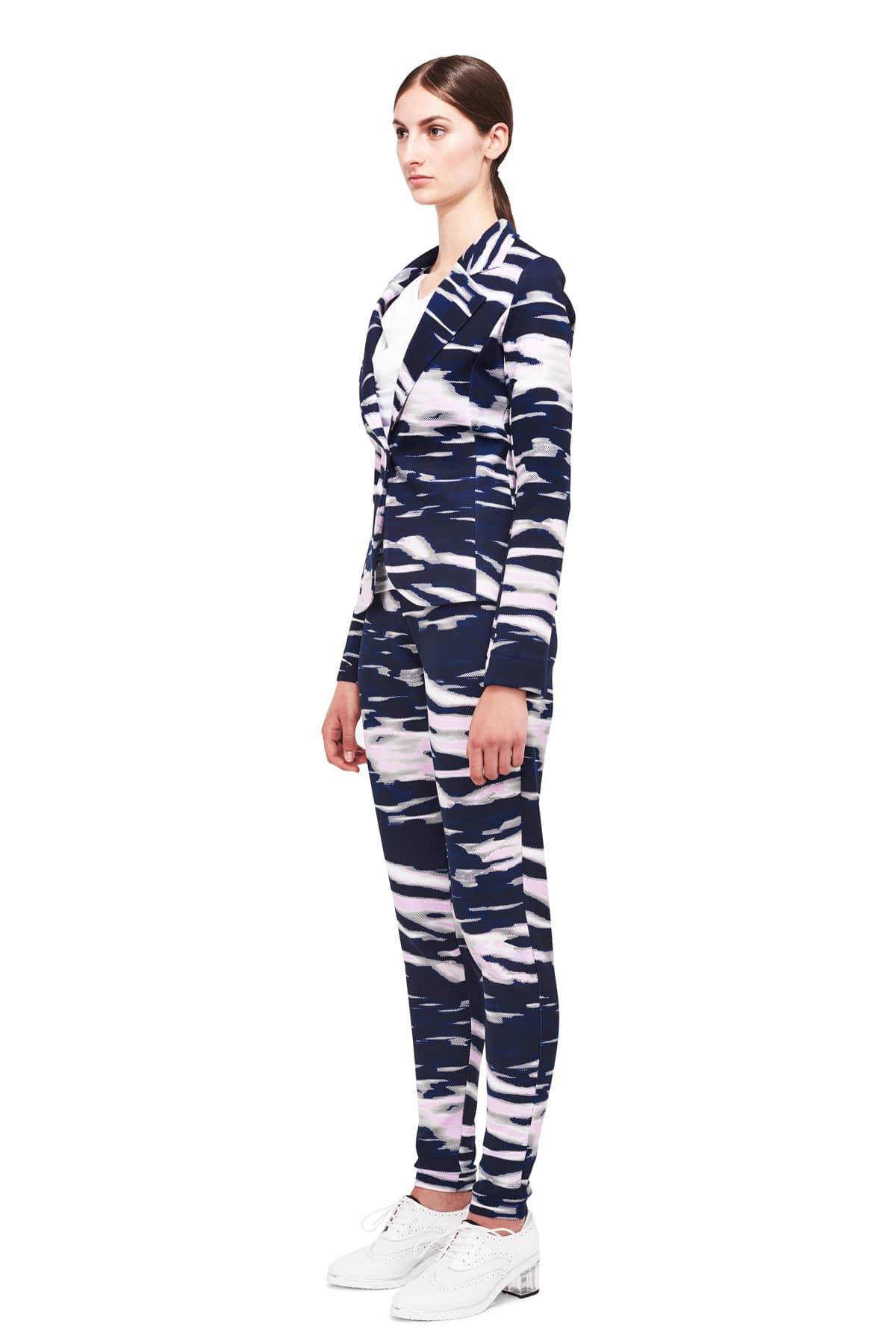 Jerseyblazer Aada_camouflage_ST