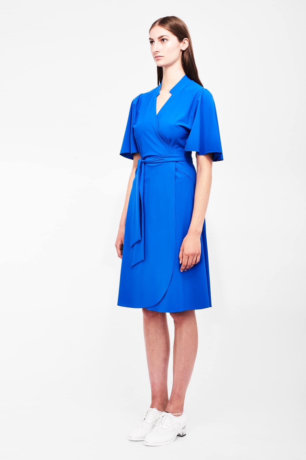 Jerseykleid Kiah_knallblau_ST