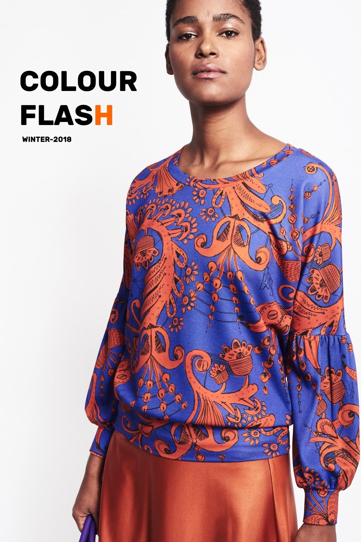 Sweatshirt Zylie colourflash