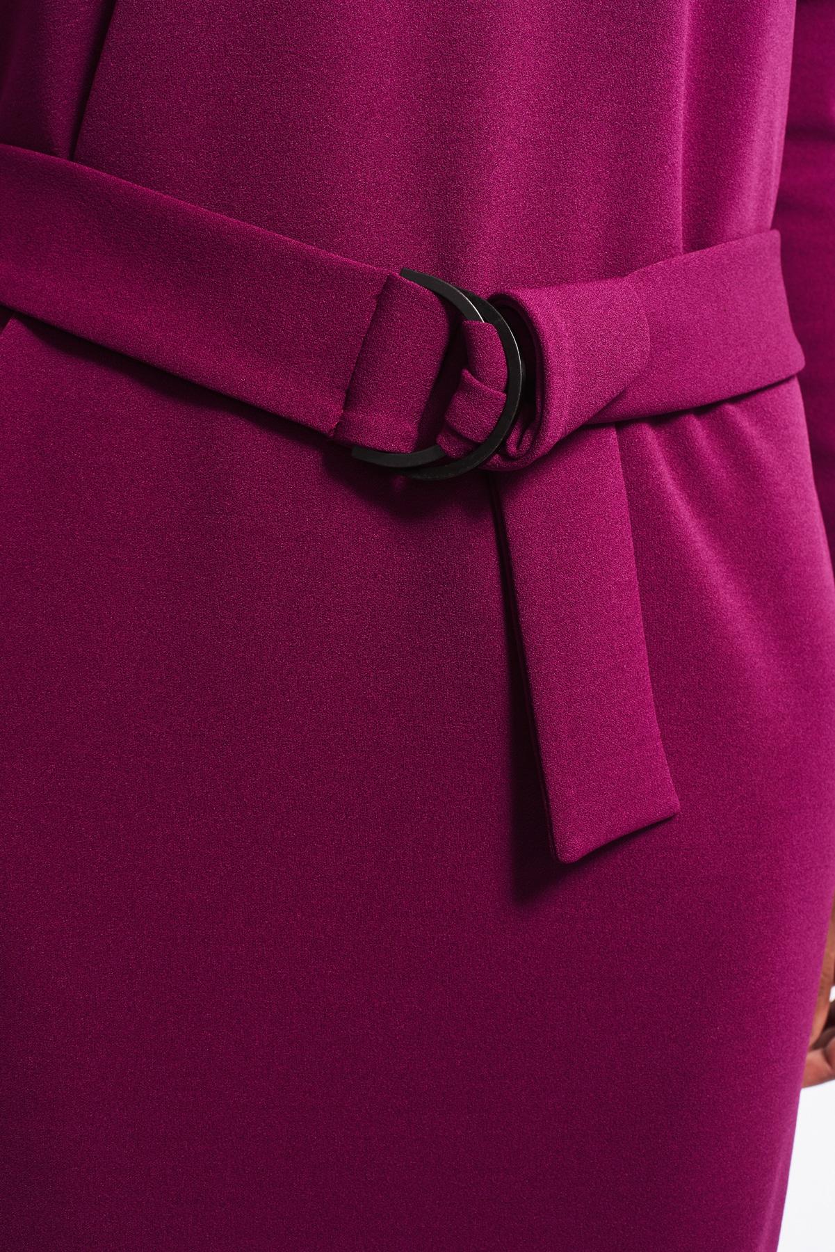 Kleid Phyllis violett crepe (3)