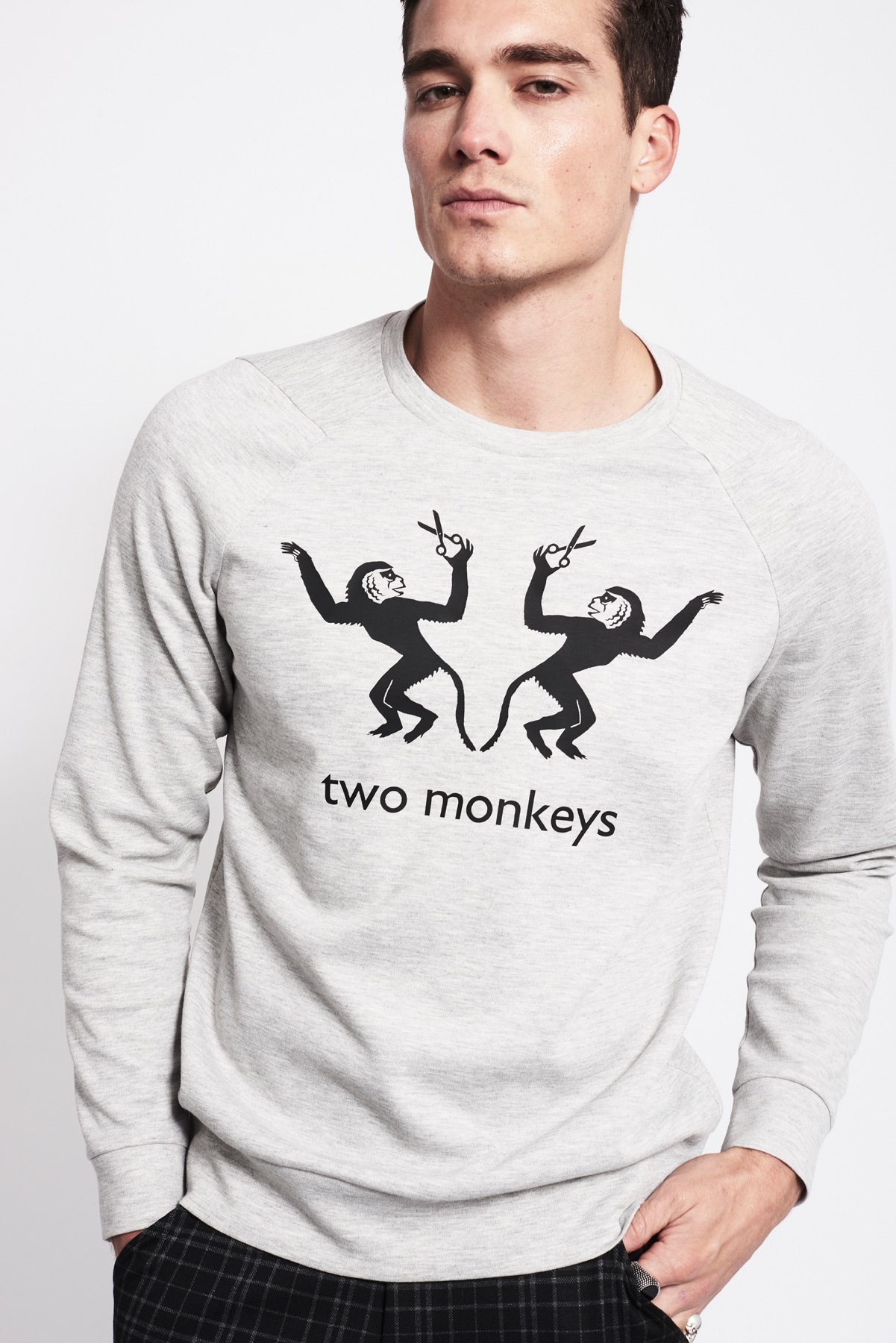 Männer Sweater monkeys (1)