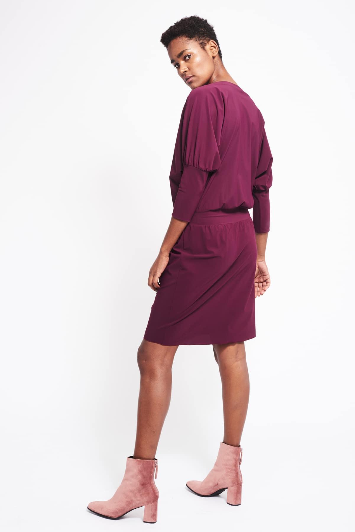 Kleid Philene weinrot (3)