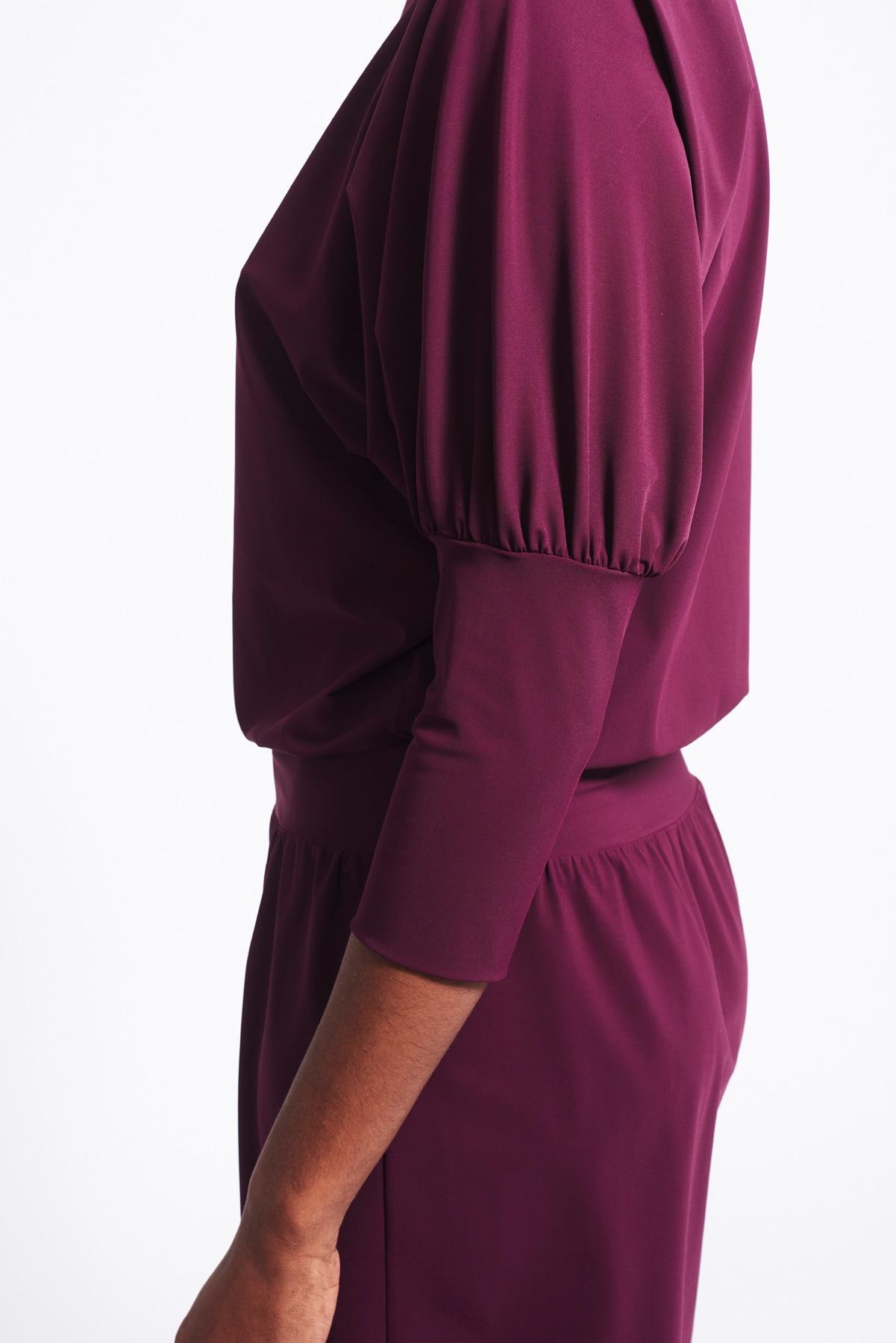Kleid Philene weinrot (5)