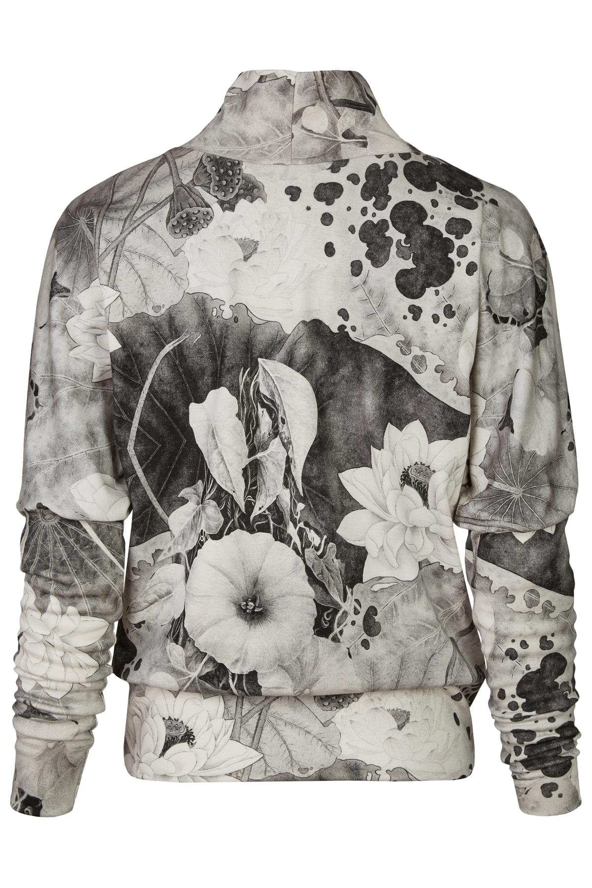 Pulli-Phyllis-Blume-Grau-Weiß_2