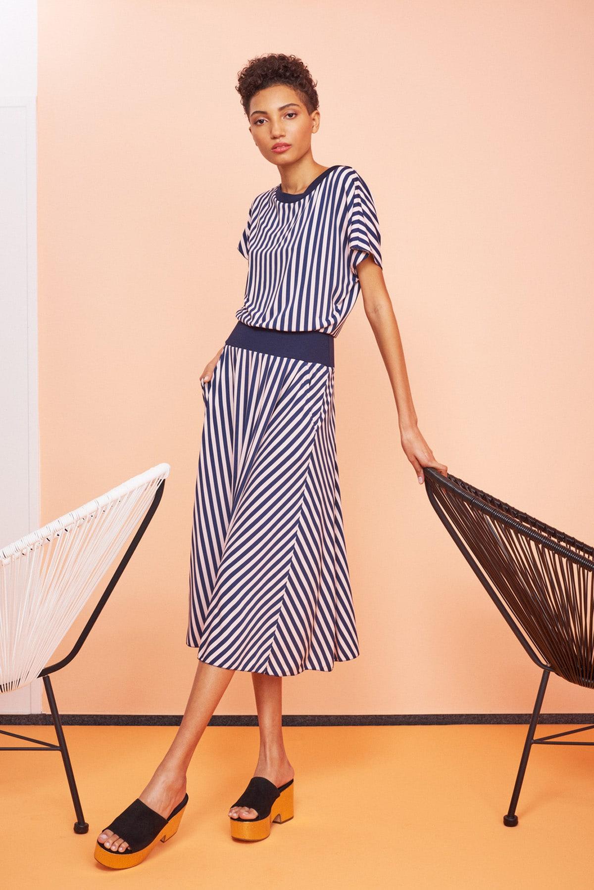 kleid berit stripes