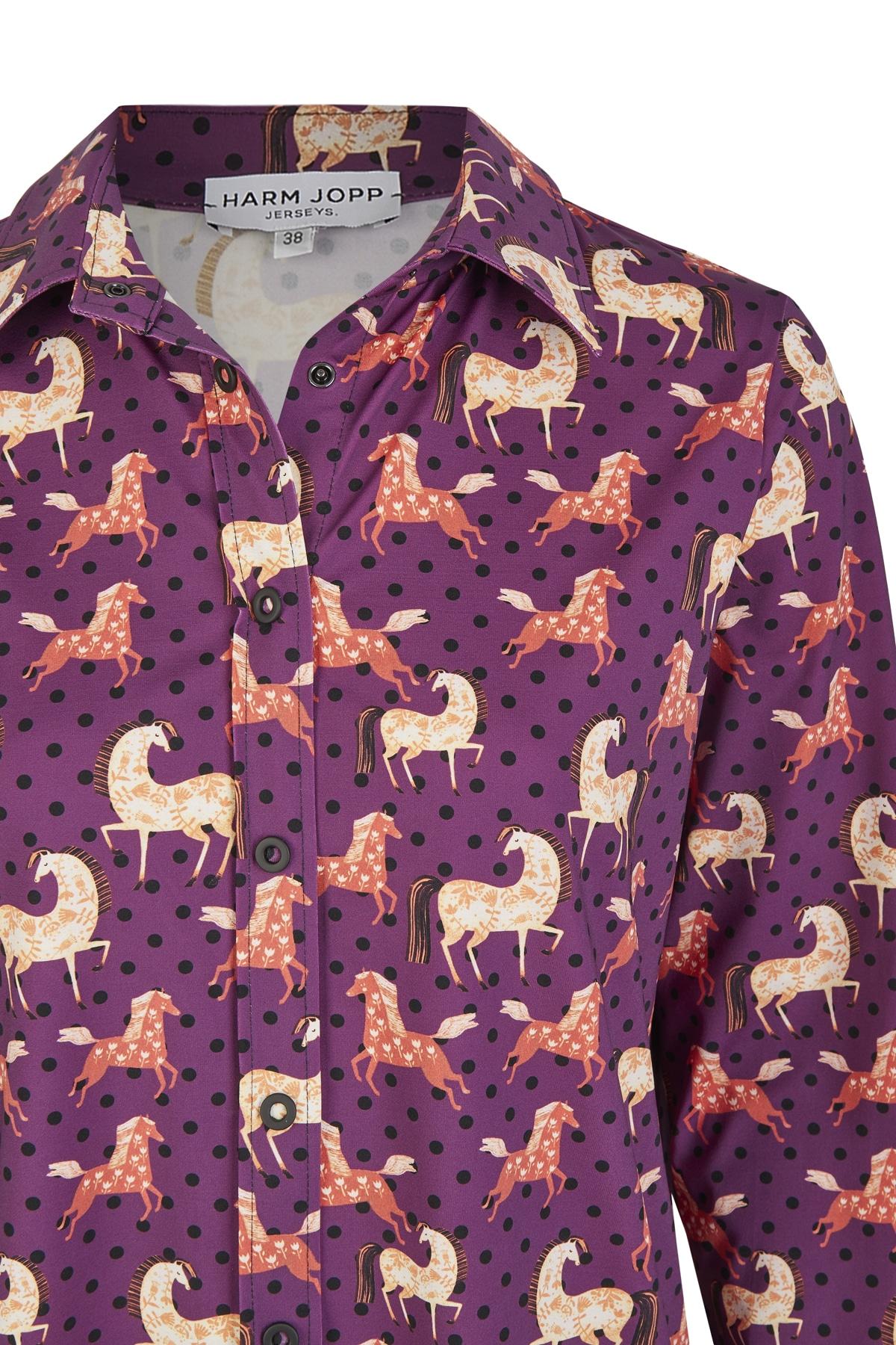 Bluse_Nowa_horses_lila_3