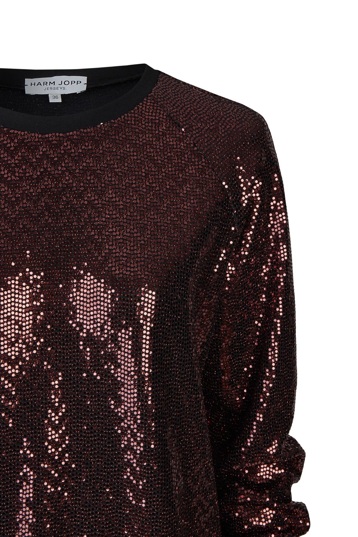 Sweater Paillette Kupfer 3