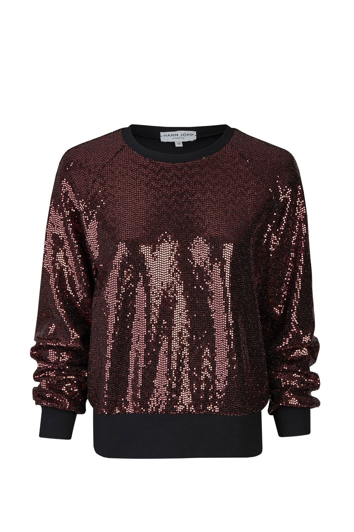 Sweater Paillette Kupfer VT