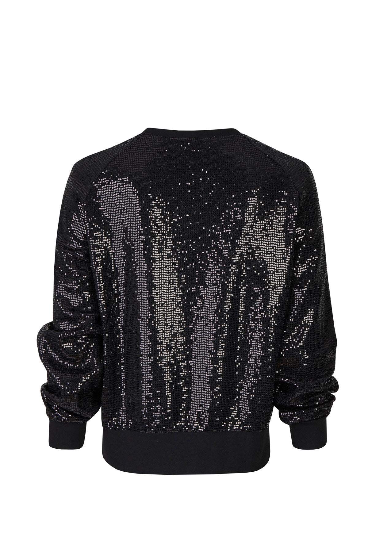 Sweater Paillette schwarz RT