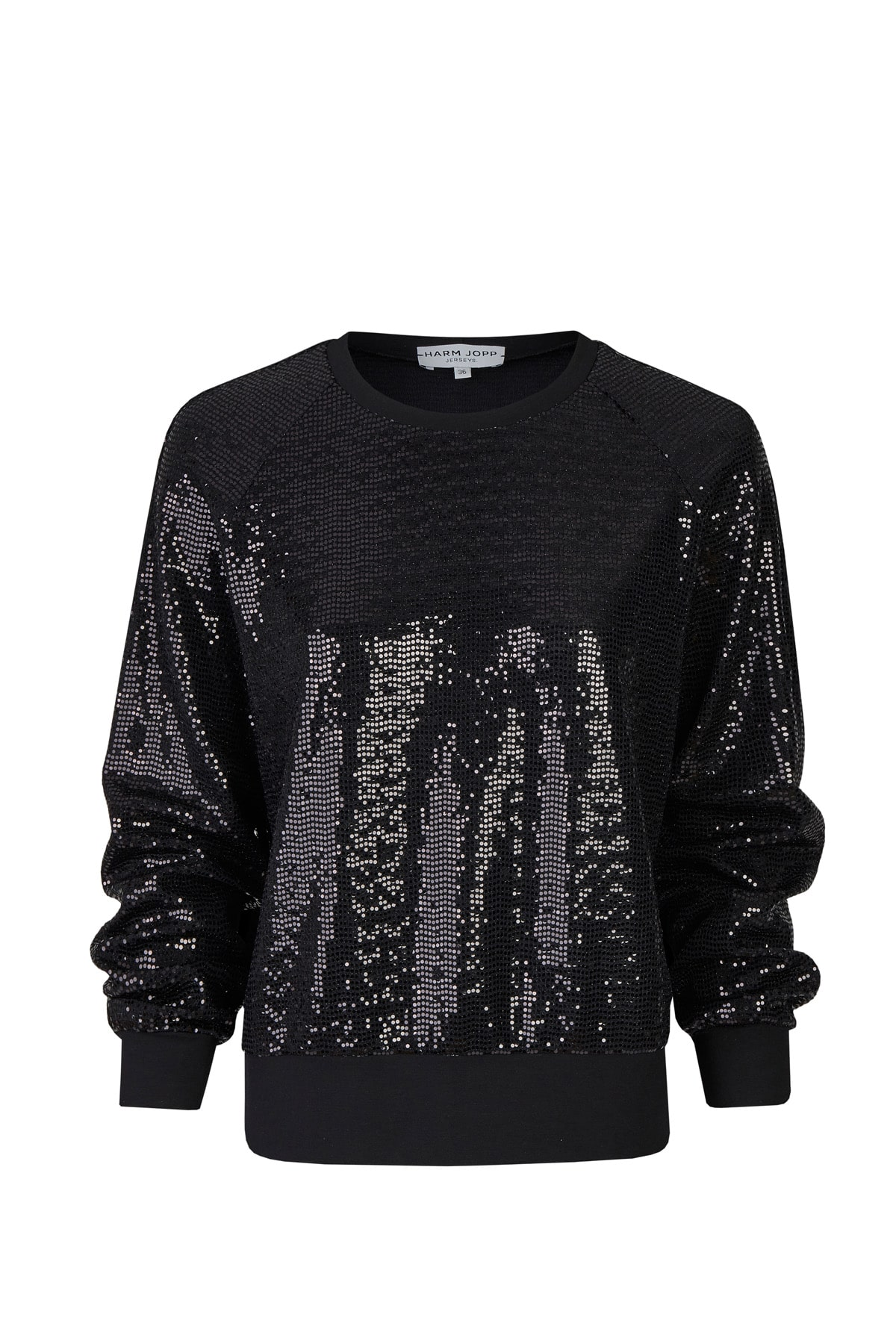 Sweater Paillette schwarz VT