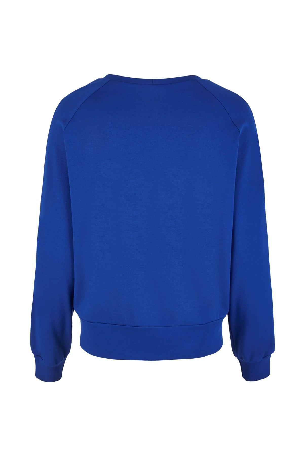 sweater blue back