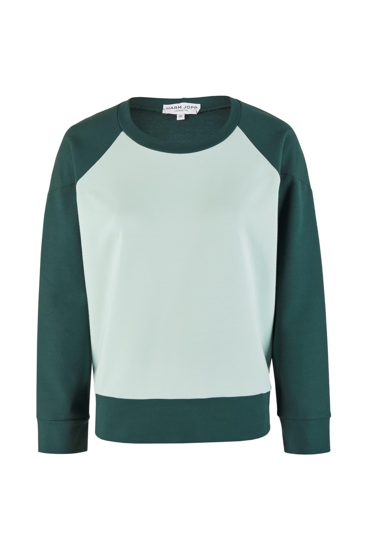 sweatshirt grün front